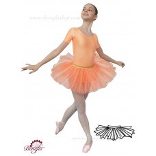 Tutu skirt with sparkles - E 0003
