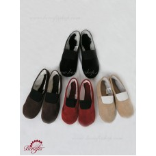 Ballet shoes from artificial leather - N 0001A
