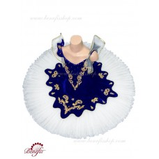 Paquita with an elastic bodice on hoops - P 1302A