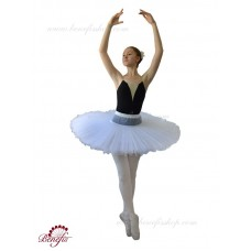Professional basic tutu with hoops - T 0001F